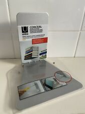 UMBRA Invisible Conceal Floating Book Shelf Wall Mounted Metal Storage Steel