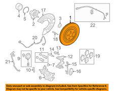JAGUAR OEM 11-17 XJ Rear Brake-Rotor C2P13648