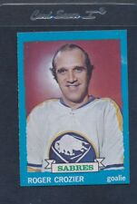 1973/74 Topps #108 Roger Crozier Sabres NM *311