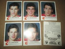 1986-87 Red Rooster Calgary Flames Set COMPLETE