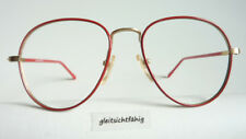 Red Panto-Brille Glasses Frame Vintagefassung Metal Large Glasses Unisex Size M