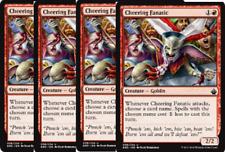 4x Cheering Fanatic  -NM- Battlebond MTG Red Uncommon