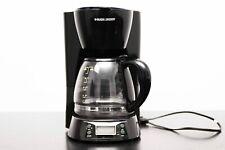 Black Decker Coffee Maker 12 Cup Black Glass Pot