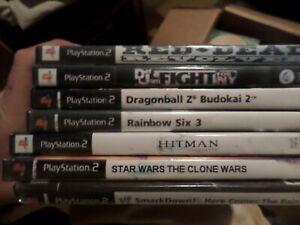 PS2 Reproduction Art DVD Cases No Games Lot of 30 No manuals No discs
