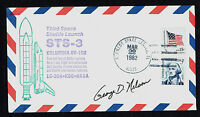 George Pinky Nelson signed autograph Cover Astronaut STS-41-C, STS-61-C, STS-26