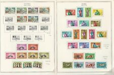 Guinea Collection 1960-1974 on 65 Minkus Specialty Pages, Many Sets