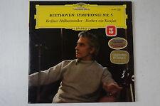 Beethoven Symphonie 5 Karajan 1962 DG 138 804 Tulip Rim sealed versiegelt 42