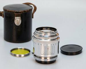 Carl Zeiss Sonnar 85mm 1:2 T // OM Labor // Contax RF Rangefinder S // VERY RARE