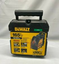New Dewalt 165 Ft Red Self Leveling Cross Line Laser Level With Case