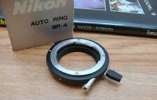 NIKON BR-4 Bellows Ring Adapter BR4 Macro Adaptor for PB-4 PB-5 bellows