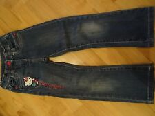Hello Kitty Hose Jeans Gr. 110 blau