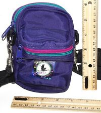 EMPTY PURPLE CAMERA CASE - OR SMALL SHOULDER TRAVEL BAG GENERIC USED