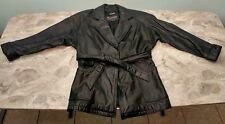 ~!Women's Leather WILSONS Belt THINSULATE Harley-Davidson Jacket.Size Small,S~
