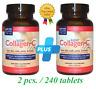 2 x Neocell Super Collagen+C Type 1 & 3, 6,000 mg, Non-GMO Gluten Free 240 Tab.