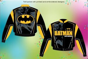 JH jacket Kids Batman yellow. X large