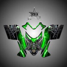 Polaris IQ RMK Shift Dragon Graphics Decal Wrap 2005-2012 Guardian Green