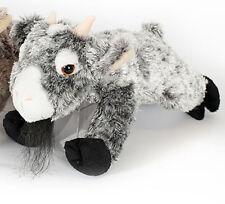 """Wishpets 12"""" Gray Floppy Billy Goat Plush Toy"""