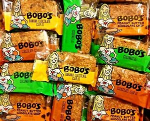 68 BOBOS OAT BARS ENERGY PROTEIN NUTRITION BAR NON-GMO VEGAN GLUTEN FREE S/H!