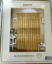 SAVOY/ WHITE LACE CURTAINS/ Original Design/ 4 Packages/ Each 50$