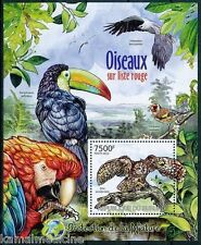 Spotted Owl, Toucan, Sea Eagle, Environment Protection, Burundi 2012 MNH SS