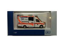 Rietze 76104 WAS Design RTW Facelift Ambulance Kantonsspital Luzern 1:87 Neu