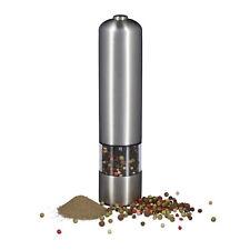 Elektrische Pfeffermühle Edelstahl Salz Pfeffer Mühle Chili Chilimühle Batterie