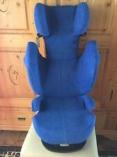 Sommerbezug Schonbezug Frottee f. Cybex Solution M, M-Fix, S-Fix, M SL NEU blau