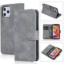 Leather Wallet Case Flip Holder Phone Cases Cover For iPhone 11 Pro Max XS XR X