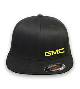 GMC SIERRA YUKON  AUTO FLEXFIT HAT CURVED or FLAT BILL *FREE SHIPPING in BOX*