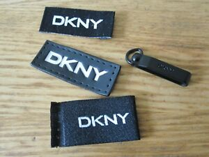 DKNY Clothing Labels x 3 & Pulley x 1