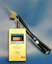 Wahl 392mx Platinum Precision Thermometer With 205 Platinum Probe Untested