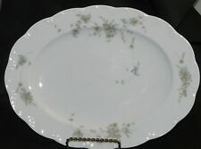 Rosenthal Classic Rose Monbijou grüne Ranke Platte oval 32 x 23,5 cm