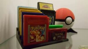 Nintendo Gameboy and Gameboy Advance Cartridge Stand Display