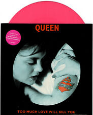 QUEEN too much love will kill you +2 - 45RPM 8827457 QUEEN 23 PINK VINYL