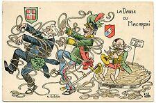 VICTOR-EMMANUEL III ROI D'ITALIE. EMILE LOUBET. LA DANSE DU MACARONI. NORWINS.