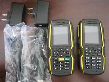 Lot of 2 SONIM XP5560 Ultra Rugged Waterproof  Cell Phone Bolt AT&T with Charger