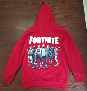 Fotnite Boy's Hooded Sweatshirt. Size 9-10. Pre-owned.