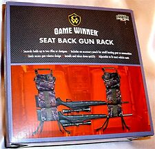 Game Winner Camo Truck SUV Seat Back Gun Rack FSGWHE1021C