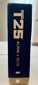 Beachbody Focus T25 Get It Done DVD Set - Alpha + Beta Workout -Complete 9 Discs