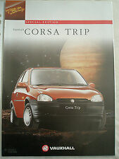 Vauxhall Corsa Trip brochure Mar 1996