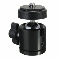 Mini Swivel Ball Head for Tripod Monopod JOBY Gorilla pod Flash LED Travelling
