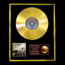 RUSH  PERMANENT WAVES CD GOLD DISC RECORD LP  FREE P&P!