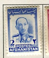 AFGHANISTAN;  1951 early Pictorial issue fine Mint hinged 2a. value