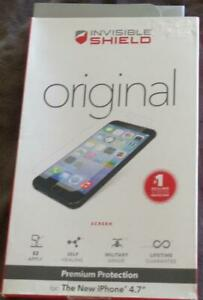 """Zagg Invisible Shield - For Apple iPhone 4.7"""" - BRAND NEW IN PACKAGE - ORIGINAL"""
