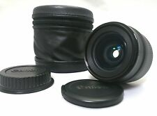 CANON EF 24mm F2.8 With Lens case [Near Mint] Camera Lens from Japan