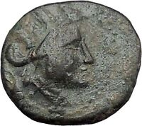 Apameia in Phrygia Ancient Greek Coin Artemis Diana Cult Satyr Marsyas i49527