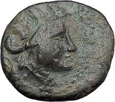 Apameia in Phrygia Ancient Greek Coin Artemis Diana Cult Satyr Marsyas i49527