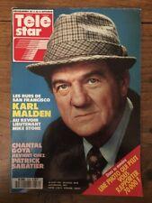 TELE STAR French n 674 Août 1989 - Karl MALDEN Mike STONE Chantal GOYA