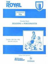 Reading Teams O-R Football Pre-Season Fixture Programmes