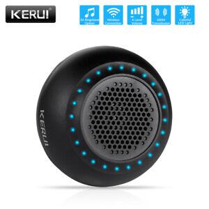 KERUI Wireless Black Chime Doorbell Plugin Receiver 500ft Home Security Burglar